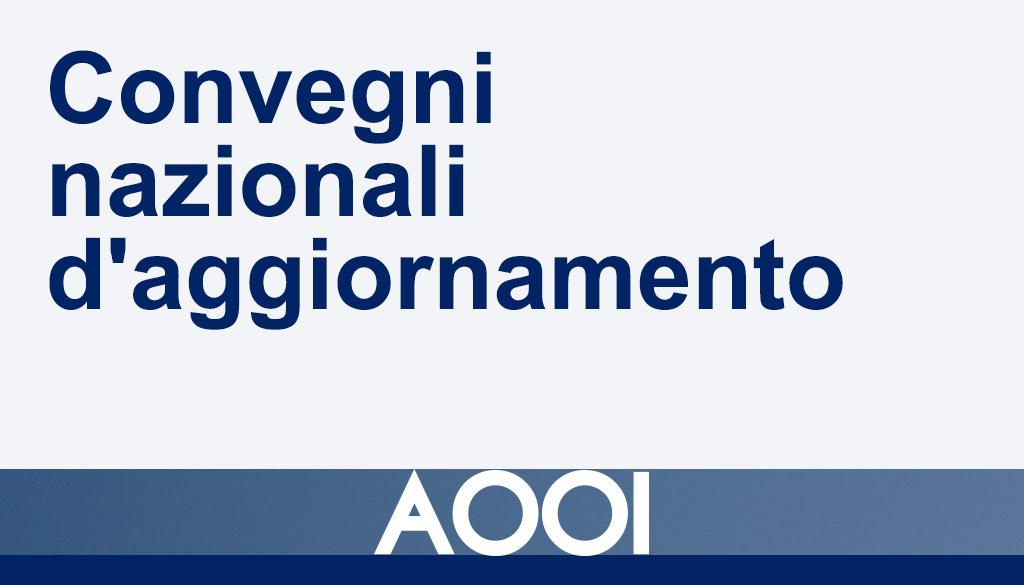 Convegni nazionali d'aggiornamento