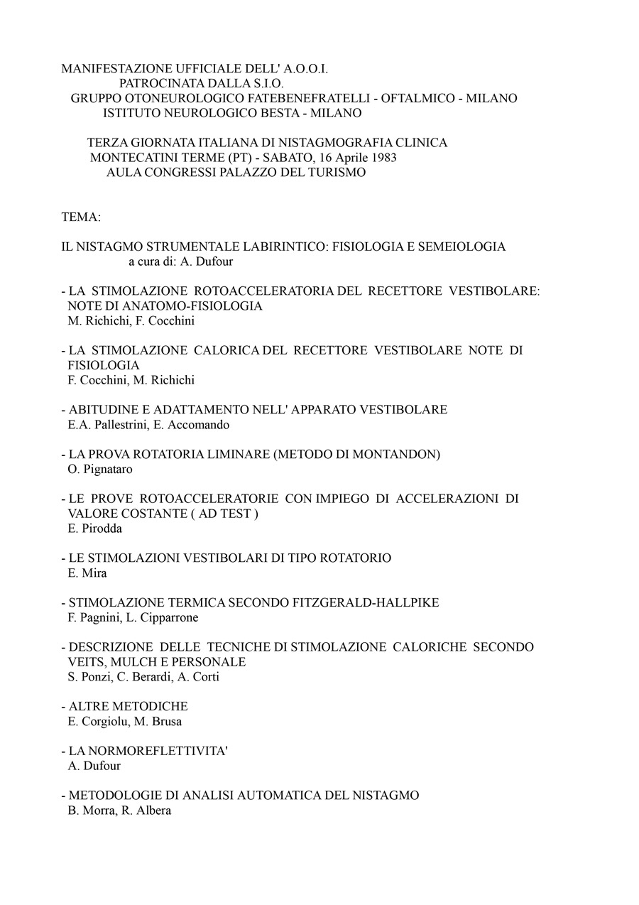 III-Giornata-Italiana-Di-Nistagmografia-Clinica---1983-1