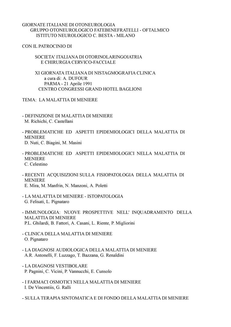 XI-Giornata-Italiana-Di-Nistagmografia-Clinica---1991-1
