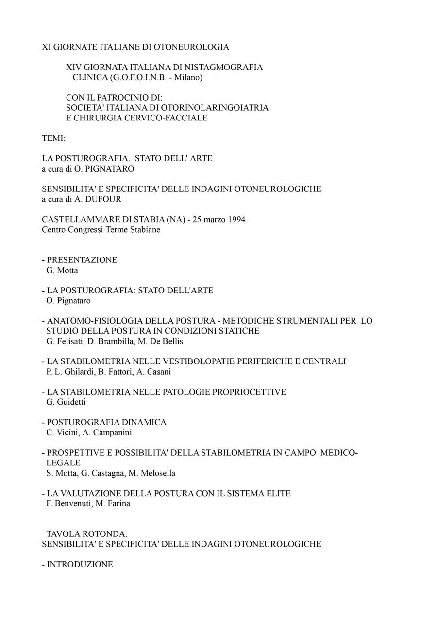 XIV-Giornata-Italiana-Di-Nistagmografia-Clinica---1994-1