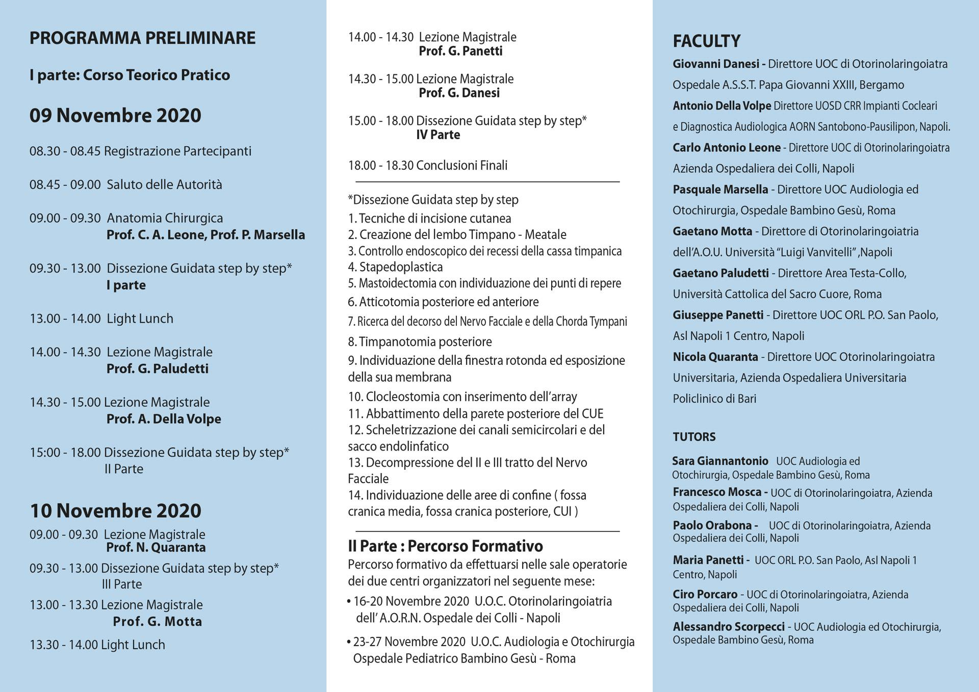 corso-tericopratico-impianto-cocleare-programma